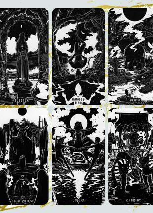 Light and Shadow Tarot (Таро Тени Света) Реплика
