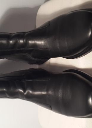 Сапожки кожаные на меху/ ботинки мужские / чоботи чоловічі, Sioux