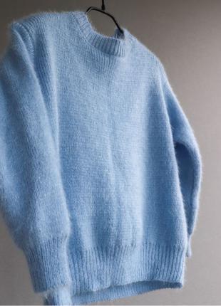 Тёплый свитерок «травка»