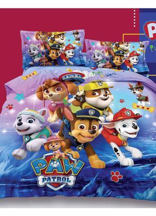 Детское постельное бельё щенячий патруль