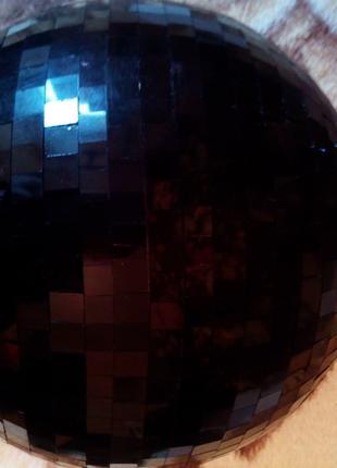 Диско Шар зеркальный 25 см