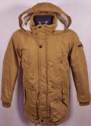 Bershka парка зимняя демисезонная (S-М) куртка Fjallraven Carh...