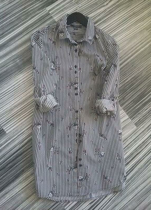 Фирменное платье рубашка primark.