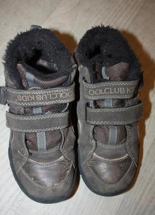 Ботинки кожа деми,еврозима на меху ф.coolclab р-31 в отличном ...