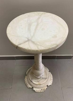 Подставка мраморная из Бельгии старинная