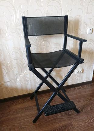 Режисерское кресло, барное кресло, стул для макияжа, высокий стул