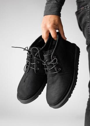 Мужские❄️зимние угги❄️ugg neumel black, уги\ботинки зима, чёрн...