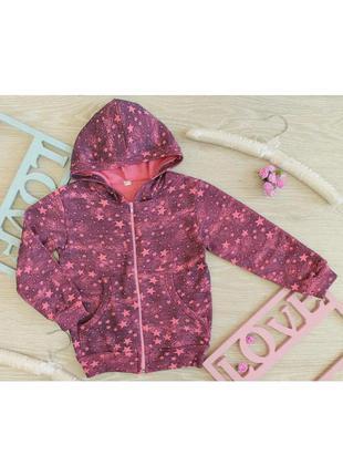Куртка-толстовка для девочки