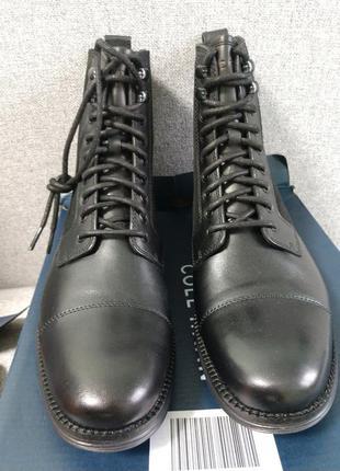 Ботинки мужские черные высокие кожаные cole haan originslgrand...