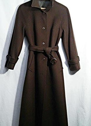 Lodenfrey, пальто шерсть сукно коричневое, made in german