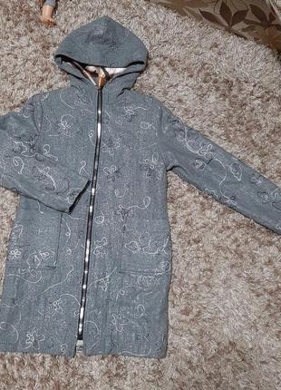 Пальто-кардиган для девочки