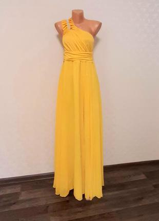 🌺длинное вечернее шифоновое платье в греческом стиле🌹