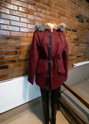 ❄🔥мега тёплая куртка-парка🔥❄
