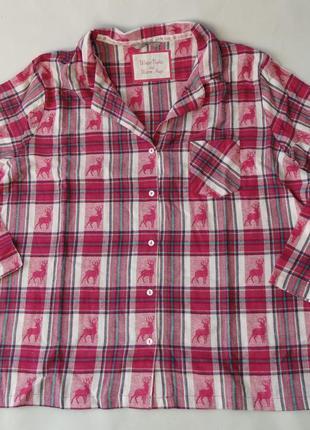 Пижамная рубашка англия 22 р tu