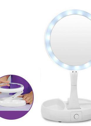 Зеркало с подсветкой,зеркало для макияжа,кольцевая лампа