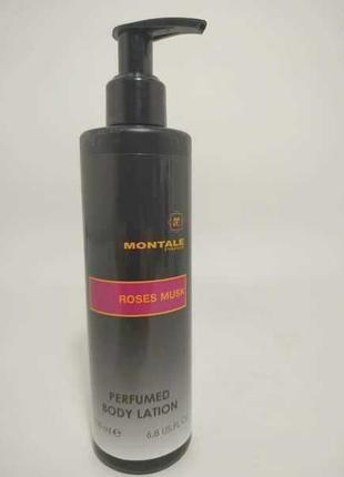 Montale Roses Musk Парфюмированный лосьон для тела Оригинал