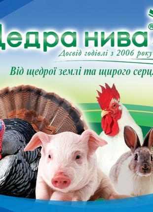 Комбикорм, корм для домашней птицы Щедра Нива