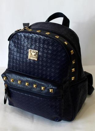 Рюкзак, женский рюкзак, стильный ранец, эко кожа