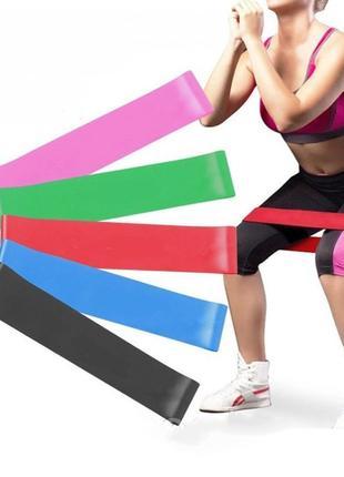 Фитнес резинки, резинки для спорта