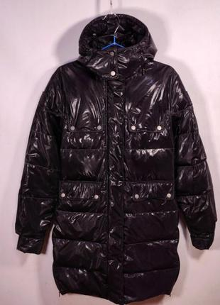 Пуховик belstaff silver / italy (италия)  down jacket куртка з...