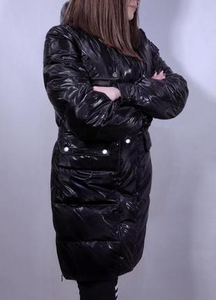 Пуховик belstaff silver down jacket/ italy (италия) куртка зим...