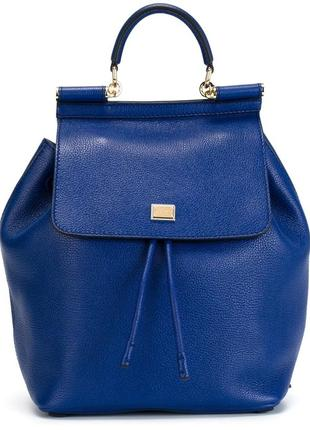 Стильный рюкзак/сумка dolce &gabbana, milano italia, нат.кожа