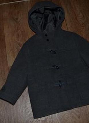 Деми пальто мальчику f&f 2-4г