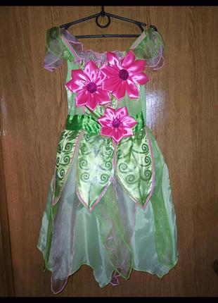 Костюм Весна цветочек  бабочка карнавальный костюм