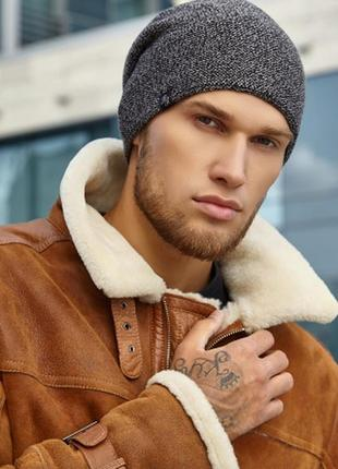 Мужская шапка осень- зима