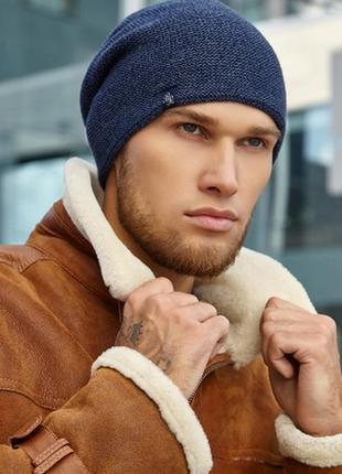 Мужская шапка осень-зима
