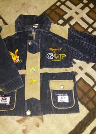 Куртка ветровка пиджак на 3-4 года
