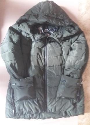 Демисезонная    куртка-парка   на  холодную осень
