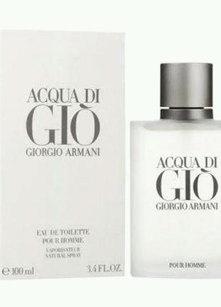 100 мл Armani Acqua di Gio Pour Homme edt