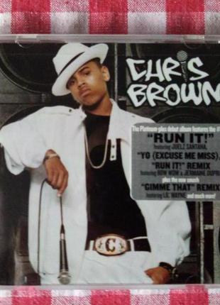 """CD Chris Brown """"Chris Brown"""" (2005) Zomba Music"""