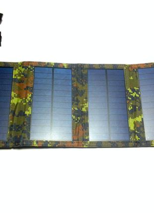 Солнечная портативная батарея в водонепроницаемом чехле 2A 15W
