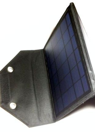 Портативная солнечная зарядная переносная батарея в чехле 2A