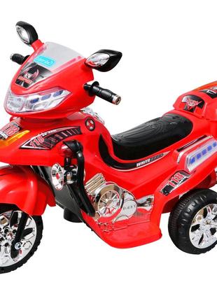 Детский электромобиль - мотоцикл для детей от 3-х лет. скорость 3