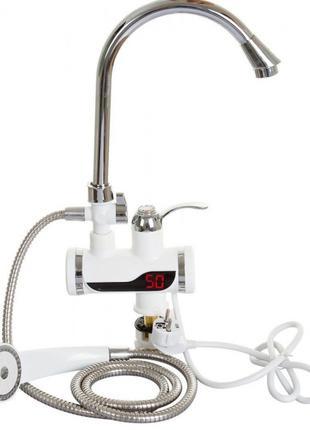 Электрический Проточный водонагреватель с душем бойлер прямой