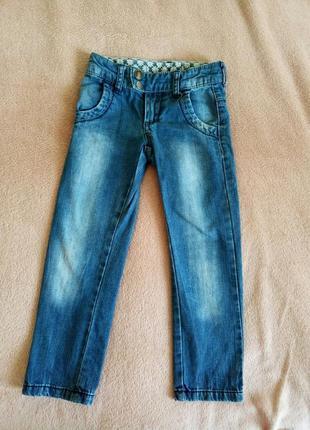 Брендовые джинсы на девочку 4 года