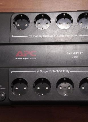 Упс APC Back-UPS ES 700VA 405W (BE700-RS)