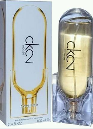 100 ml Calvin Klein Ck 2 Women Eau de Toilette (Ж)