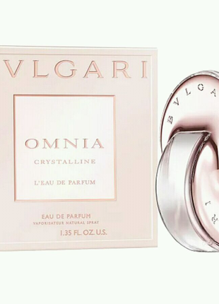 65 мл BVLGARI OMNIA CRYSTALLINE L'EAU de Parfum женский парфюм