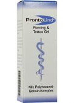 Prontolind Piercing und Tattoo Gel