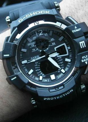 Годинник наручний Casio G-Shock GW-A1100 Black-White