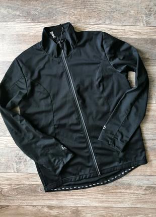 Легкий софшел вело куртка чоловіча Crivit чорна XL