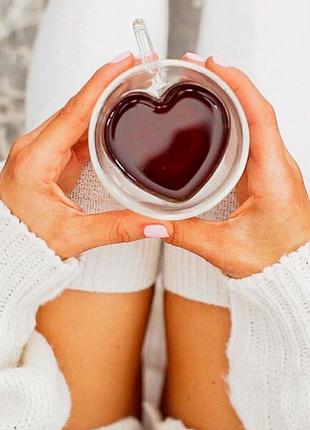 Чашки кружки в форме сердца подарок ко дню влюбленных коханим