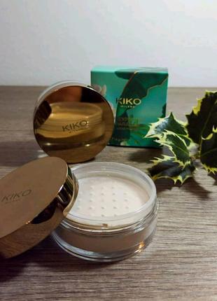 Пудра для обличчя KIKO Unexpected Paradise Loose Powder