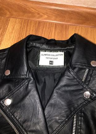 Кожаная женская куртка Terranova