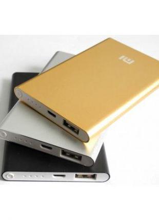 Внешний аккумулятор Power Bank Xiaomi Mi Slim 12800 mAh черный