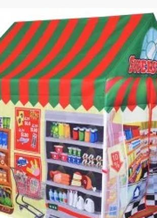 Дитяча палатка Ecotoys Магазин. Польща